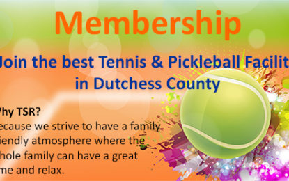 Adult Tennis in Dutchess County