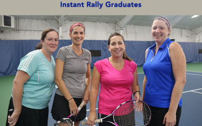 Learn tennis at Taconic Sport and Racquet