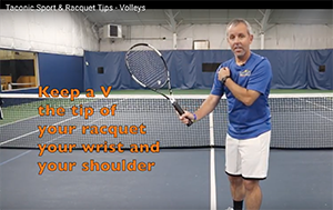 Tennis Tips from Simon Gale Taconic Sport and Racquet